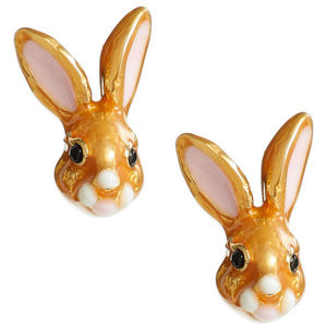 KATE SPADE Desert Muse Bunny Stud Earrings